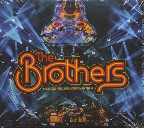 The Brothers - March 10, 2020, Madison Square Garden, New York, NY (4-CD)