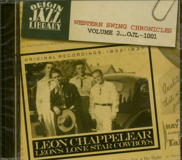 Leon's Lone Star Cowboys 1932-37 (CD)