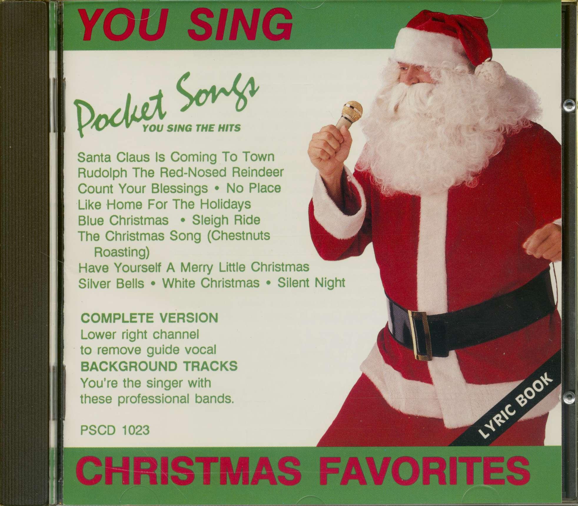 Christmas Karaoke Cd.Various You Sing Christmas Favorites Karaoke Cd