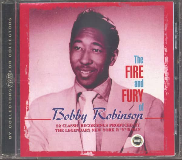 The Fire And Fury Of Bobby Robinson (CD)