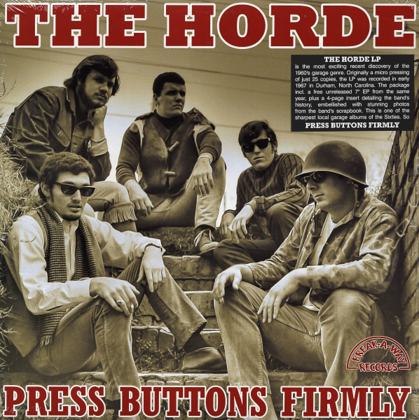Press Button Firmly (incl.45RPM 7inch - EP)