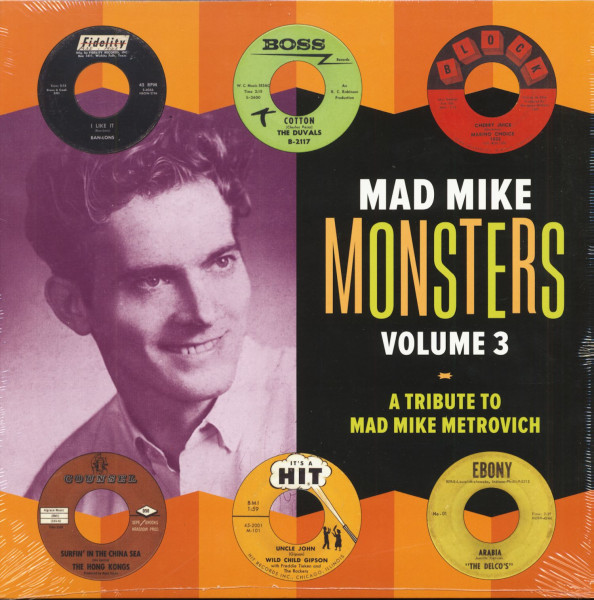 Mad Mike Monsters Vol. 3 - A Tribute To Mad Mike Metrovich (LP)