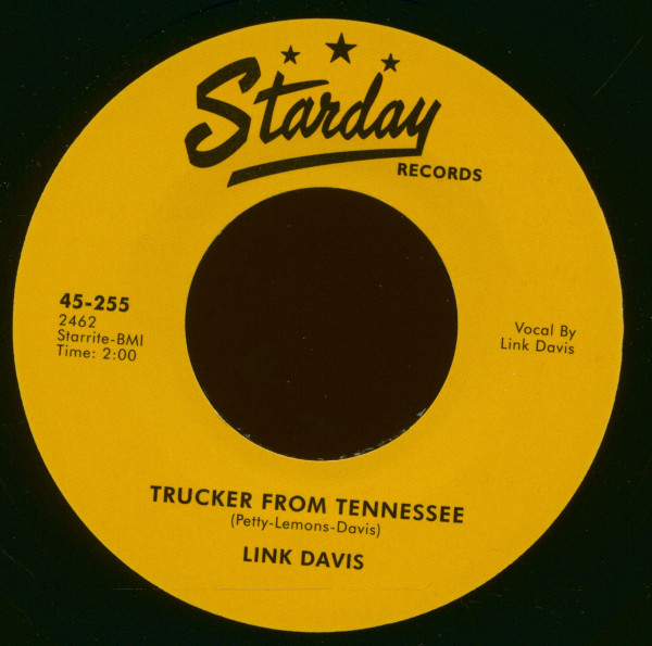 Don't Big Shot Me - Trucker From Tennessee (7inch, 45rpm)