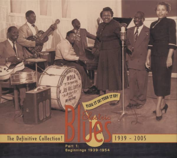 Vol.1 Electric Blues 1939 - 1954 (english)
