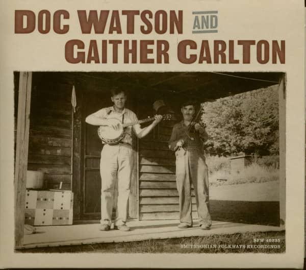 Doc Watson and Gaither Carlton (CD)