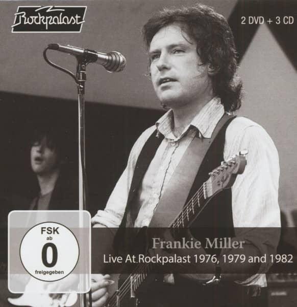 Live At Rockpalast 1976, 1979 & 1982 (3-CD & 2-DVD)