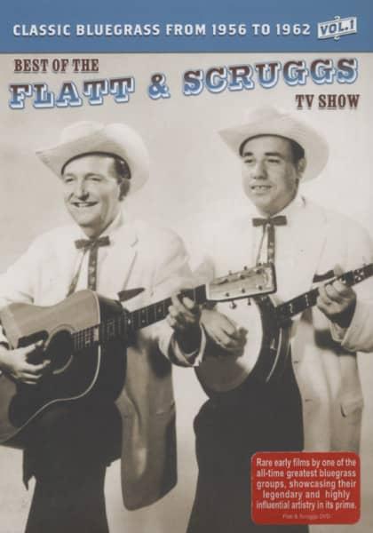 Flatt & Scruggs DVD: TV Shows 1956-62 Vol 1 (0) - Bear