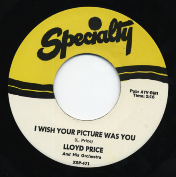 Frog Legs - I Wish Your Picture Was You 7inch, 45rpm