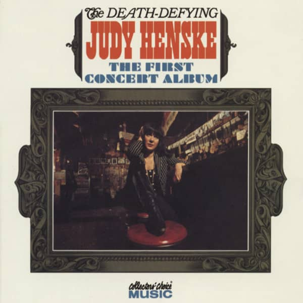 Death-Defying Judy Henske - First Concert Alb