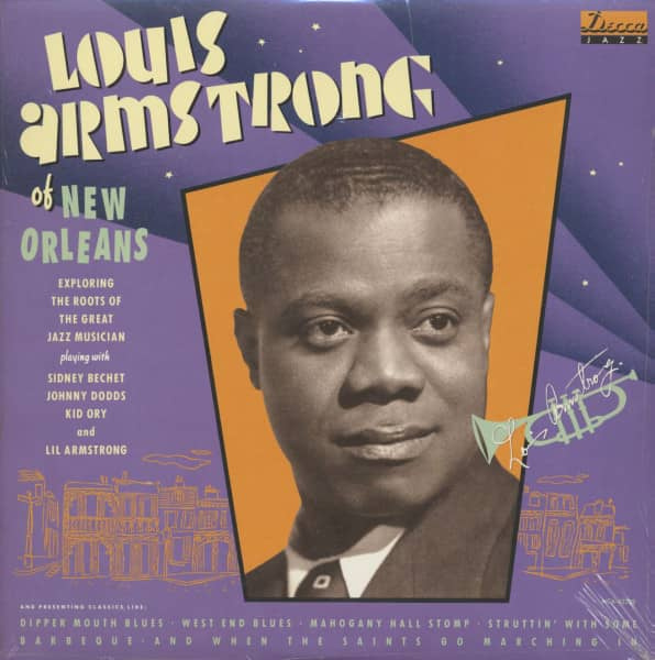 Louis Armstrong Of New Orleans (LP)