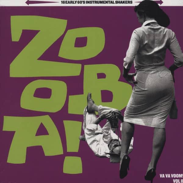 Zoo-Ba! Va Va Voom! #2 - 16 Early 60s Instrumental Shakers