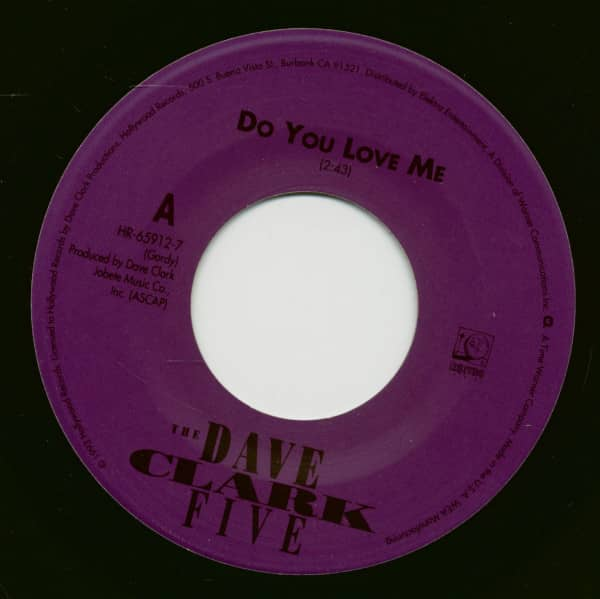 Do You Love Me - Can't You See That She's Mine (7inch, 45rpm)