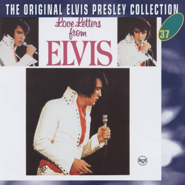 Love Letters From Elvis - The Original Collection #37 (CD)