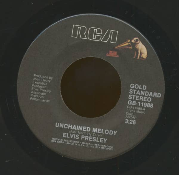 Unchained Melody - Are You Sincere (7inch, 45rpm)
