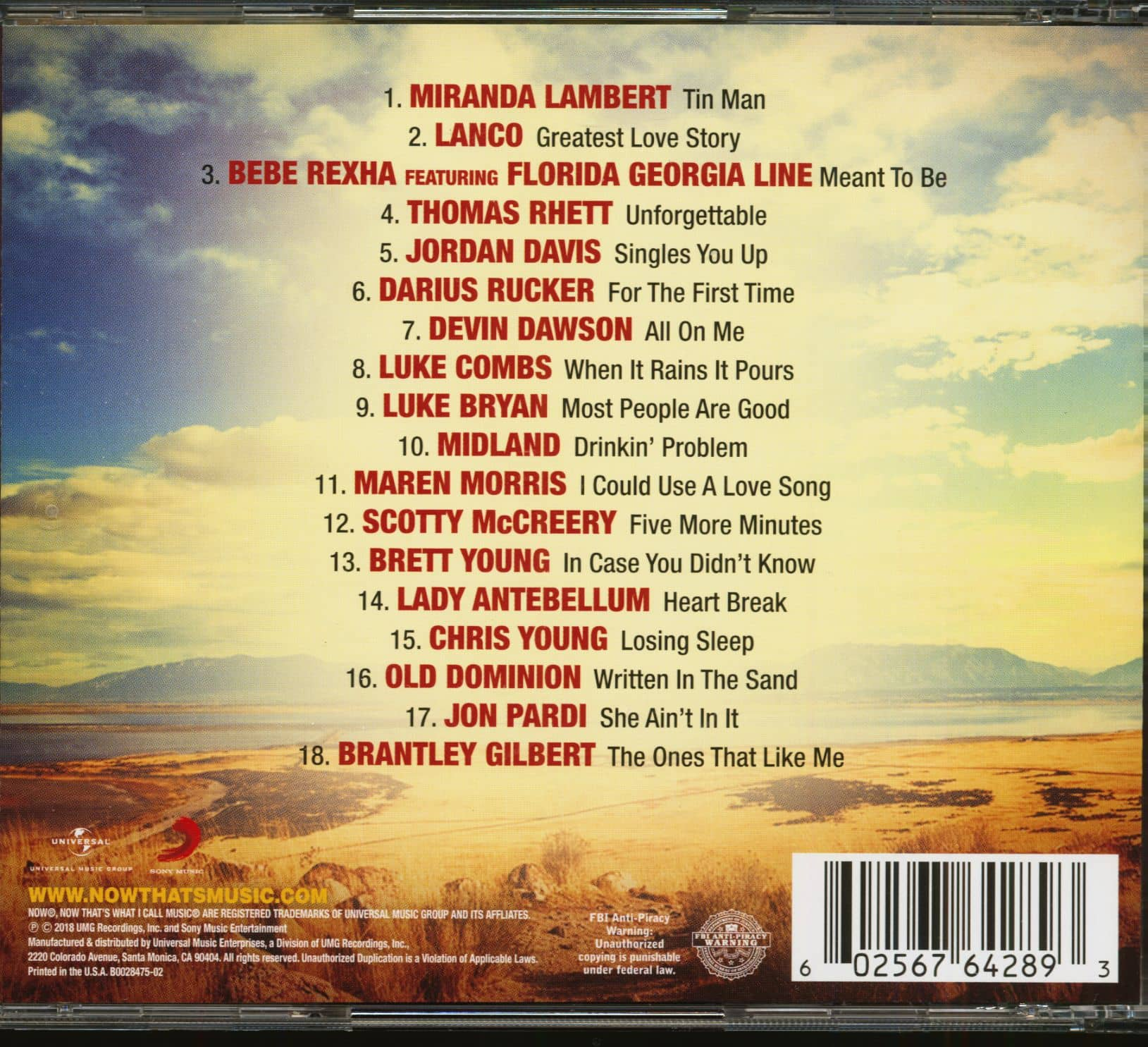 now thats what i call music 10 tracklist