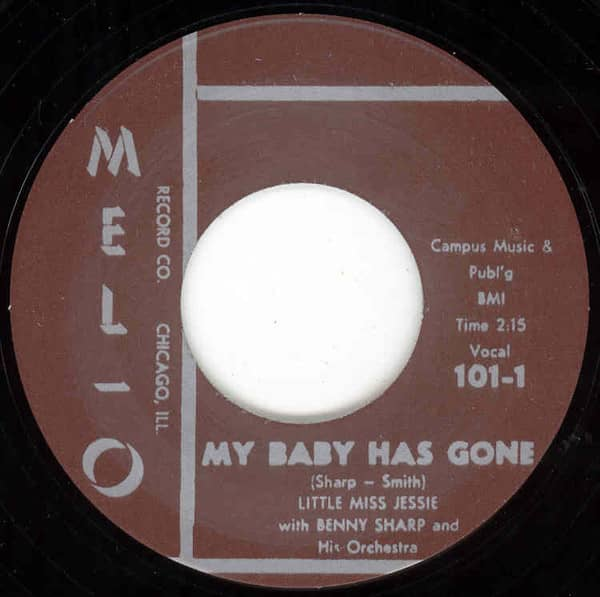 My Baby Has Gone - St.Louis Sunset Twist 7inch, 45rpm
