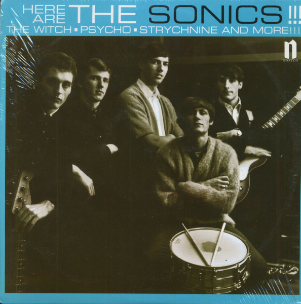 Here Are The Sonics!!! (LP)