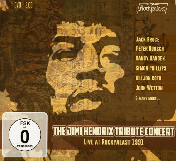 The Jimi Hendrix Tribute Concert - Live At Rockpalast 1991 (2-CD & DVD)