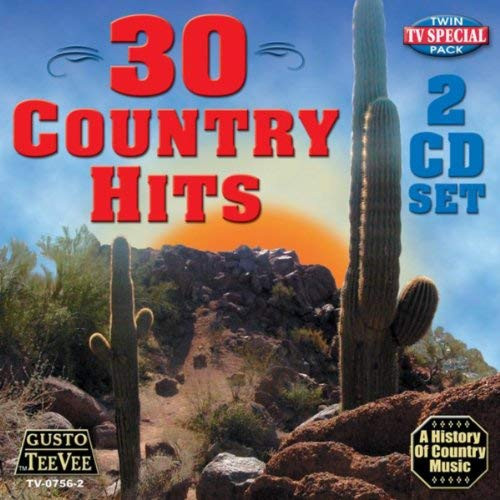 30 Country Hits (CD)
