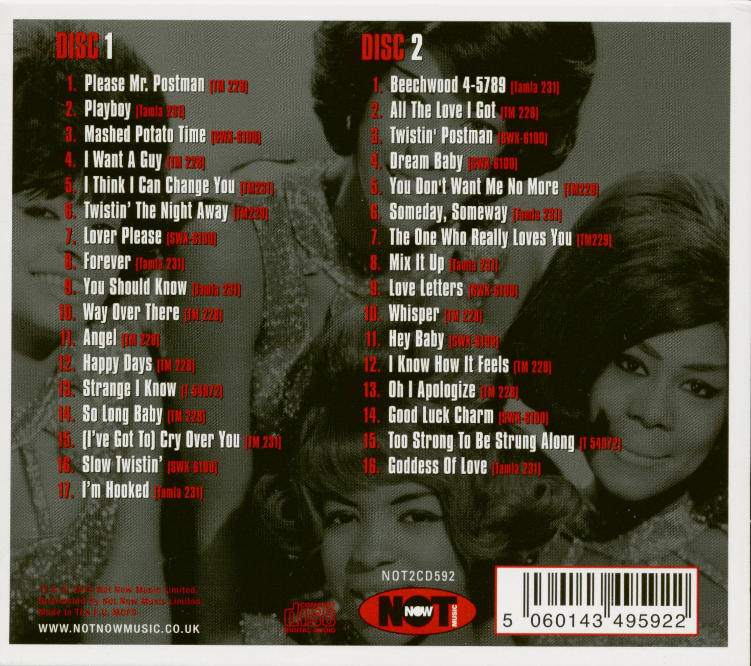 The Marvelettes The Tampla Sound Of The Marvelettes (2-CD)