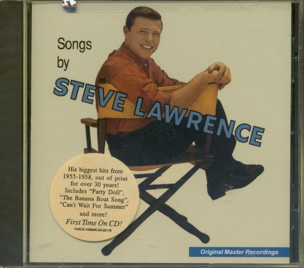 Songs By Steve Lawrence (CD)