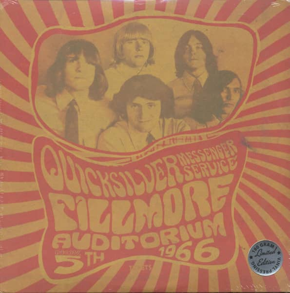 Fillmore Auditorium, Nov. 5th, 1966 (LP, 180g Vinyl, Ltd.)