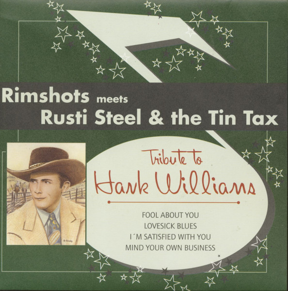 Tribute To Hank Williams (7inch, 45rpm, EP, BC)