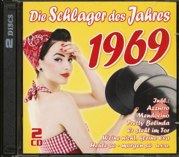 Die Schlager des Jahres 1969 (2-CD)