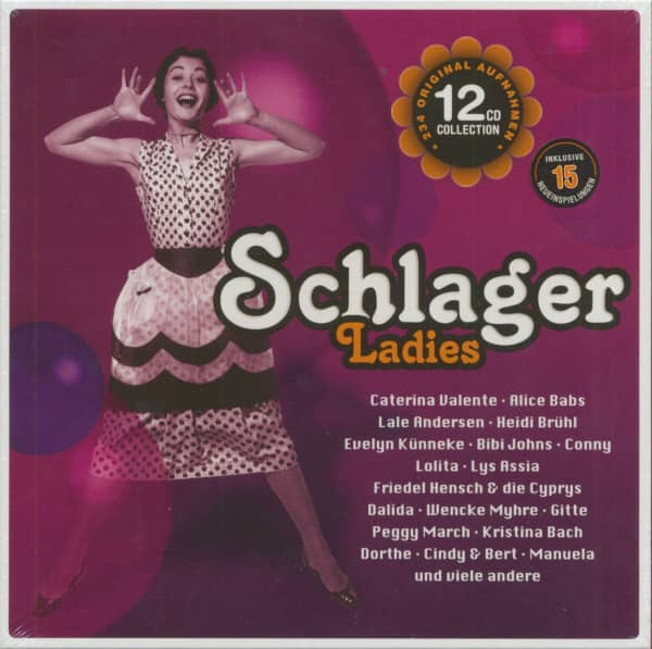 Schlager Ladies (12-CD Box)