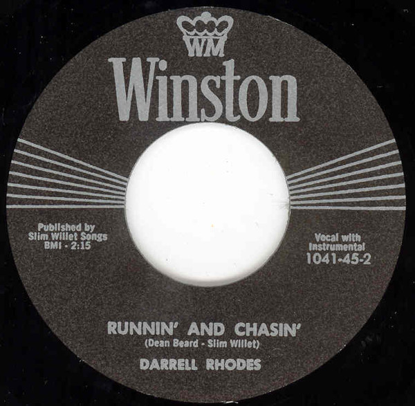 Runnin' And Chasin' b-w Can I Be The One 7inch, 45rpm