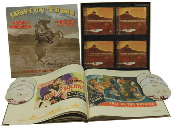 Sons Of The Pioneers Way Out There 6 Cd