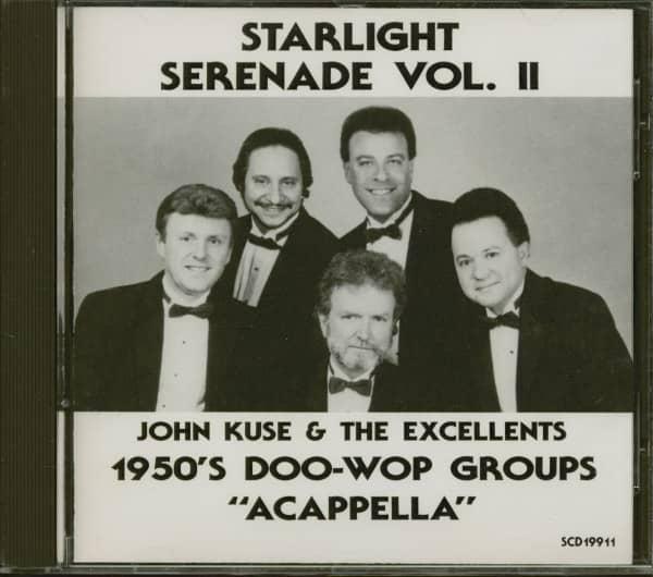 1950s Doo-Wop Groups 'Acappella' Vol.2 (CD)