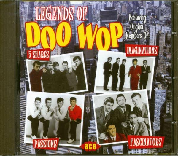 Legends Of Doo Wop (CD)