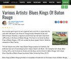 Press-Archive-Various-Artists-Blues-Kings-Of-Baton-Rouge-2-CD-all-about-jazz