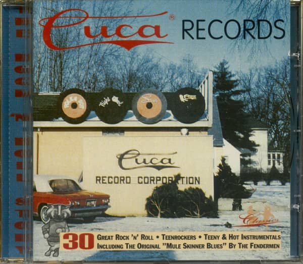 Cuca Records Rock'n'Roll Story (CD)