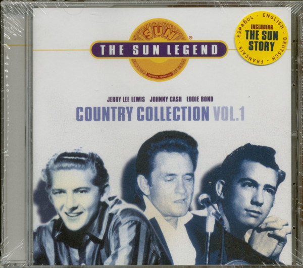 The Sun Legend - Country Collection Vol. 1 (CD)