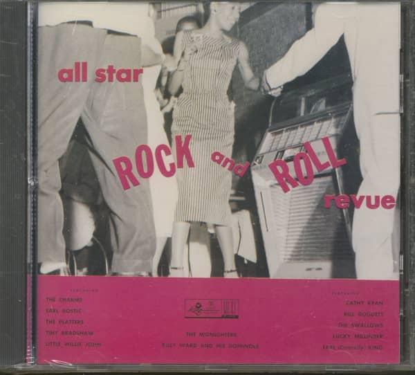 All Star Rock & Roll Revue - King Records (CD)