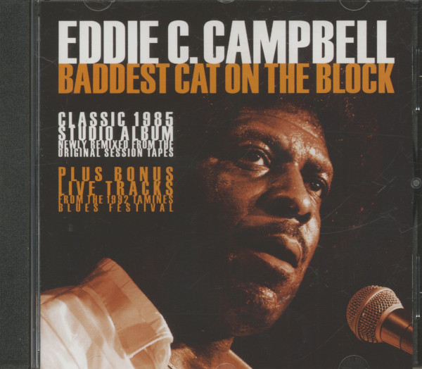 Baddest Cat On The Block (CD)