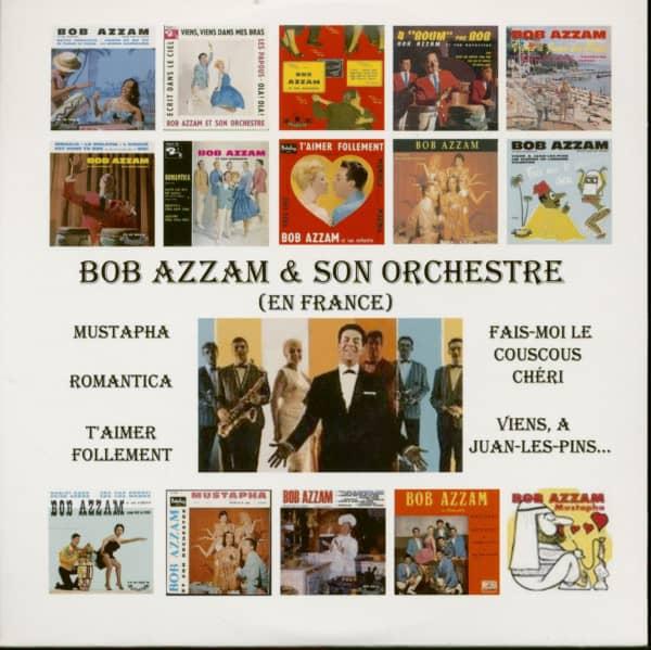 Bob Azzam & Son Orchestre (En France ) plus bonus tracks (CD)