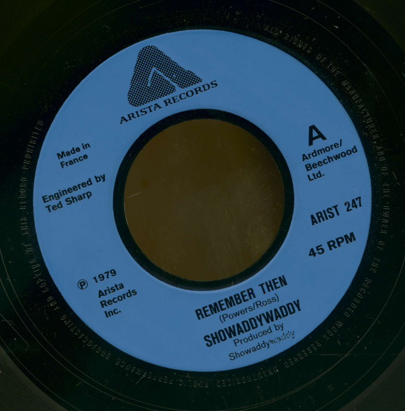 Remember Then - Love For A Star (7inch, 45rpm, BC)