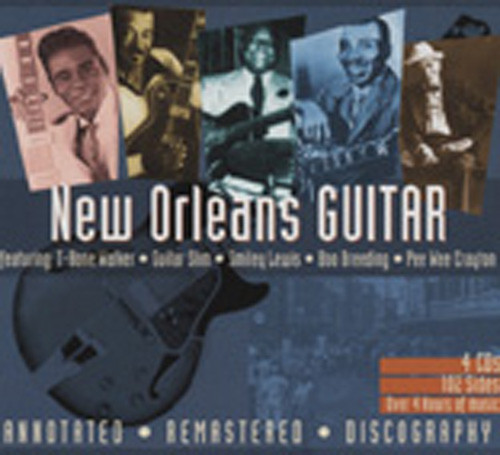 New Orleans Guitar (4-CD-Box)