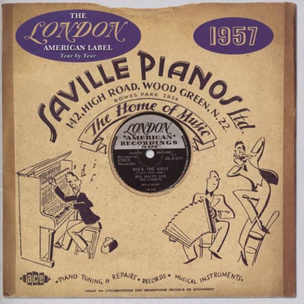 London American Label - 1957