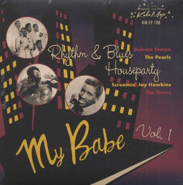 Rhythm & Blues Houseparty Vol.1 (7inch, EP, 45rpm, PS)