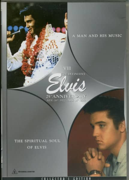 Elvis - A Man And His Music & The Spiritual Soul Of Elvis (DVD)
