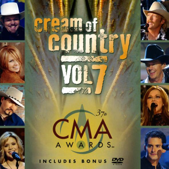 Cream Of Country Vol.7 CD & Bonus DVD
