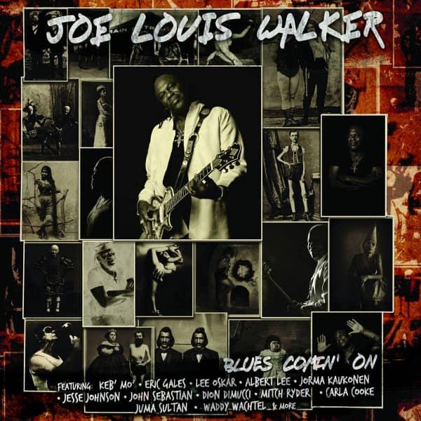 Blues Comin' On (LP)