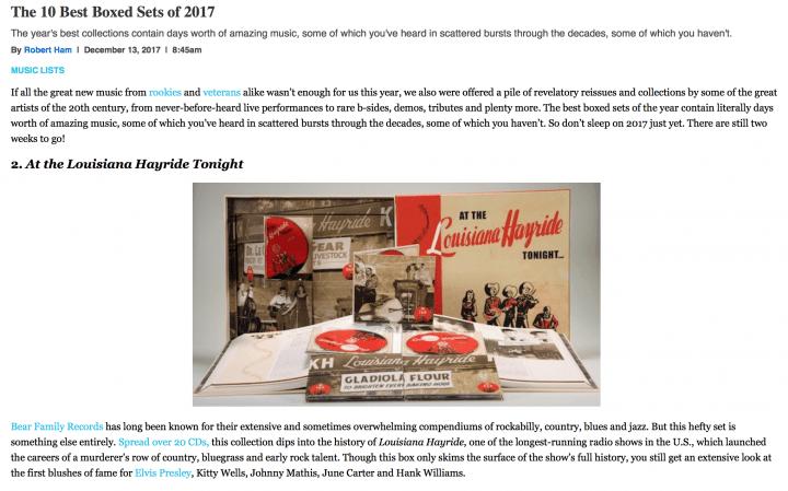 Press-Various-At-The-Louisiana-Hayride-Tonight-20-CD-pastemagazine