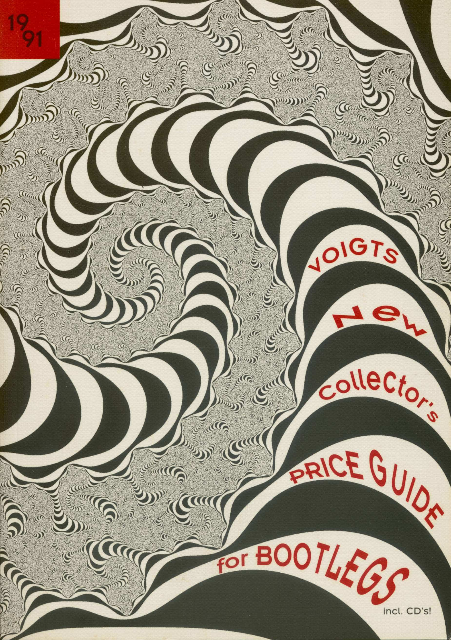 Collector's Price Guide Voigts New Collector's Price Guide for Bootlegs  incl  CD's