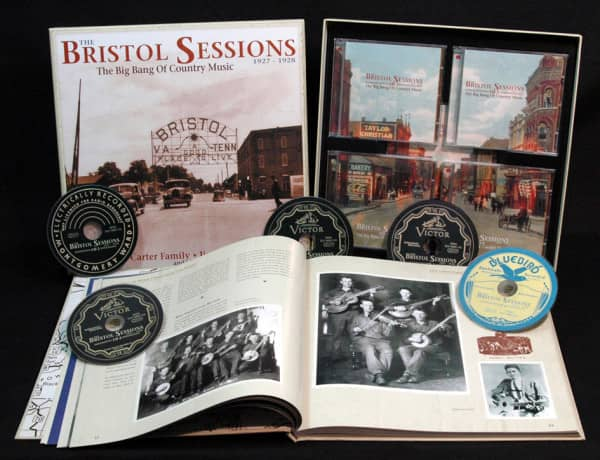 The Bristol Sessions - The Big Bang Of Country Music (5-CD Deluxe Box Set)
