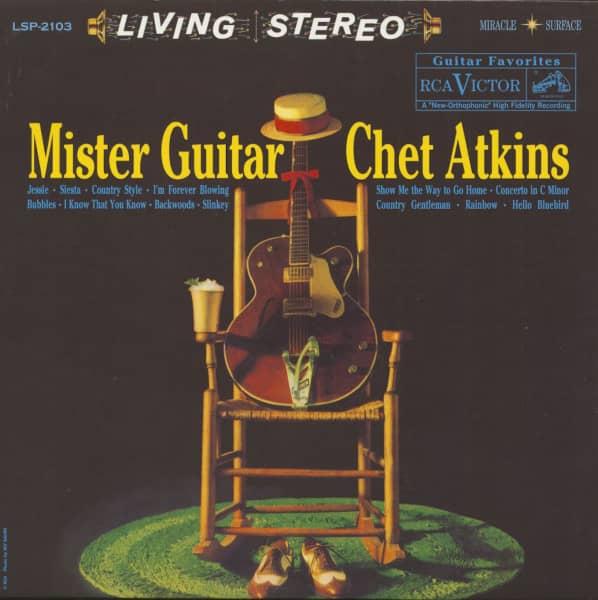 Mister Guitar (LP, 180g Vinyl)